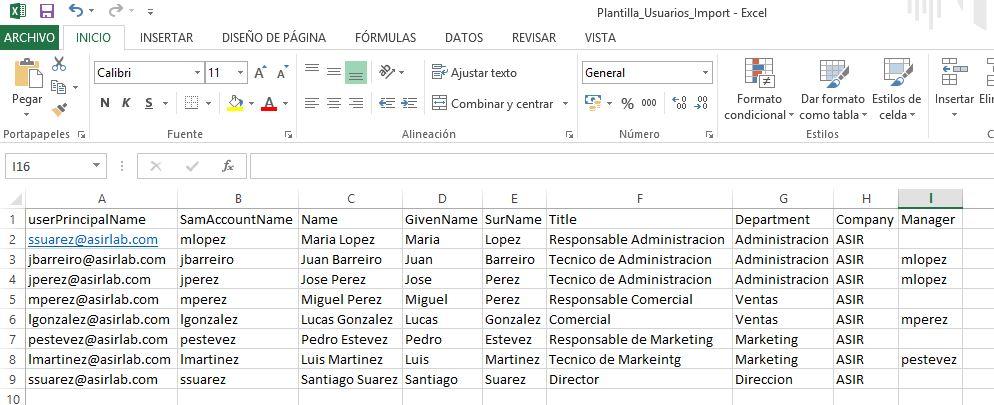 PowerShell: Crear Usuarios desde un CSV - Blog Santiago Buitrago