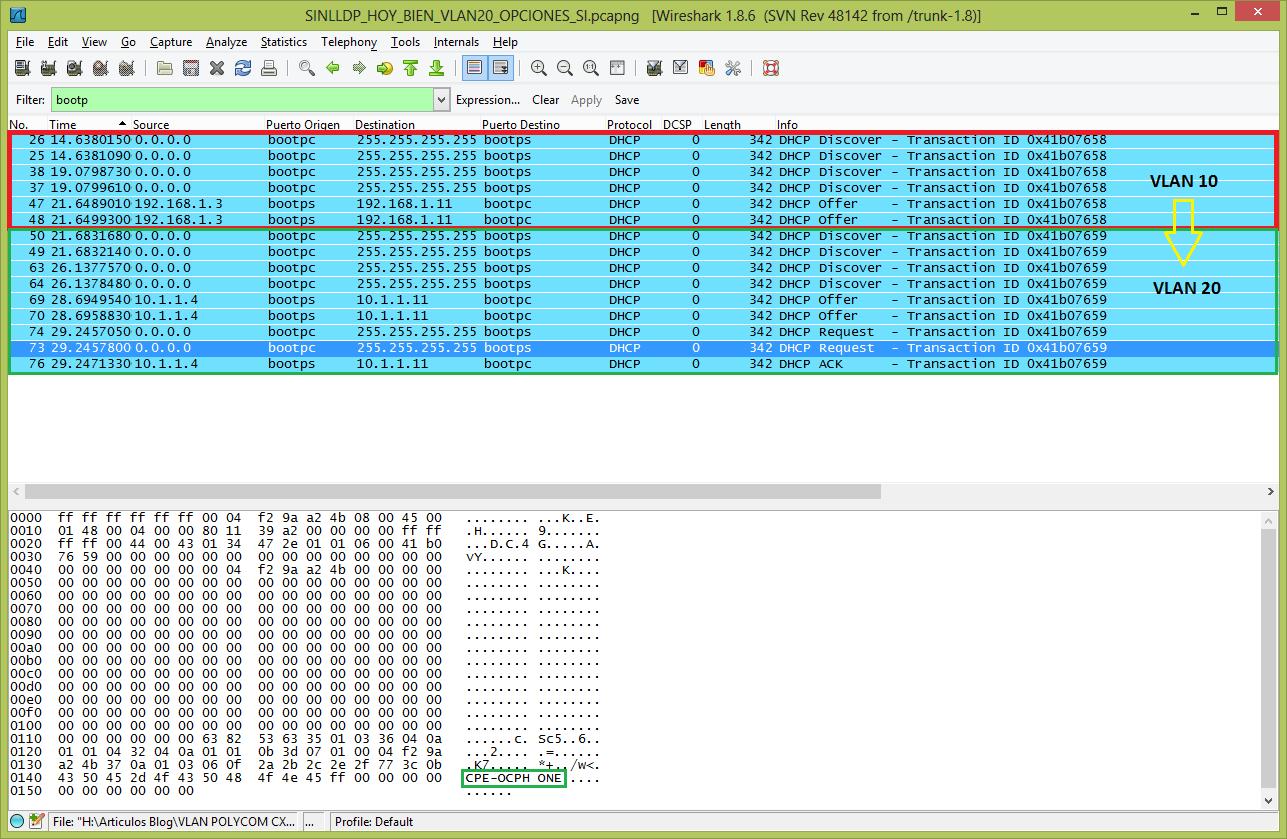 Lync Server: Asignar a una VLAN de Voz a los Teléfonos Polycom CX600