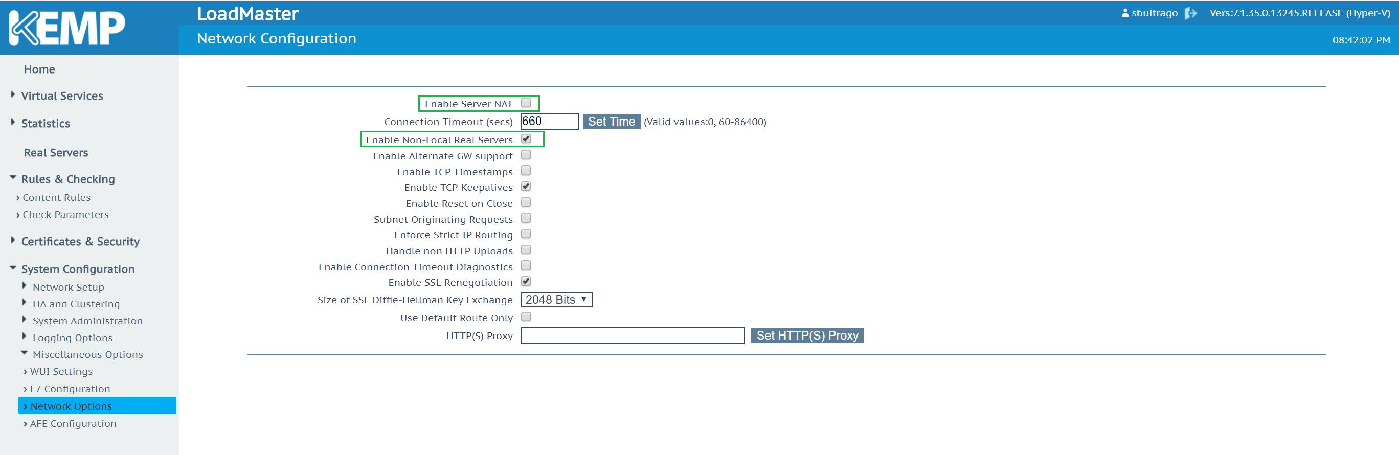 Publicar y Balancear Servicios Web via KEMP LoadMaster