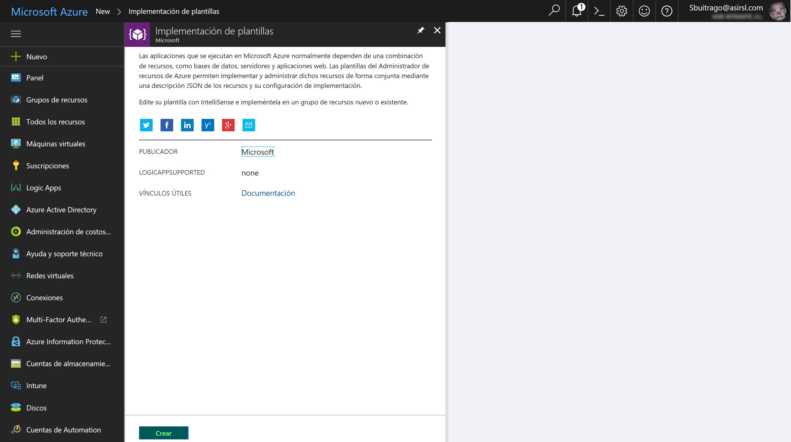 Moviendo nuestros servicios y máquinas virtuales a Azure